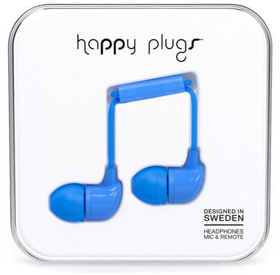 Happy Plugs In-Ear Navy