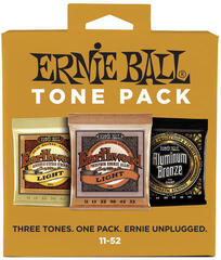 Ernie Ball 3314 Acoustic Tone Pack 11-52