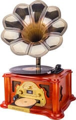Ricatech RMC360 Music Center BT with Horn Brown