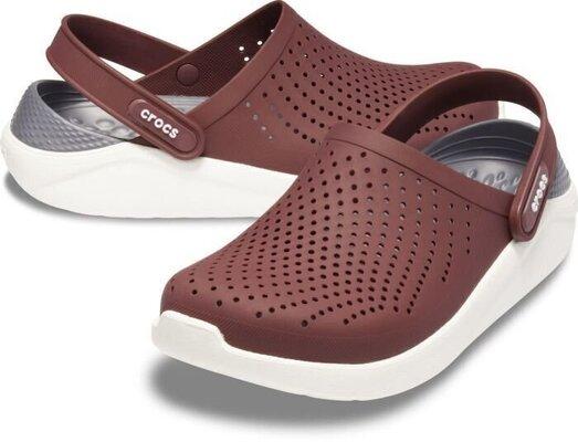 Crocs LiteRide Clog Burgundy/White 41-42