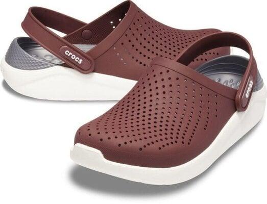 Crocs LiteRide Clog Burgundy/White 43-44