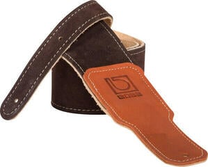 Boss BSS-25-BRN Instrument Suede Strap Brown