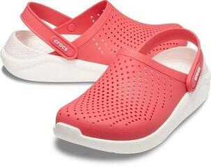 Crocs LiteRide Clog Poppy/White