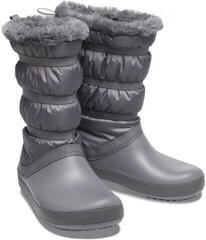 Crocs Women's Crocband Winter Boot Charcoal