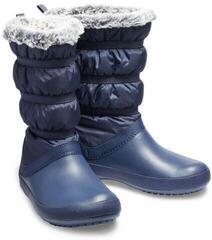 Crocs Women's Crocband Winter Boot Navy