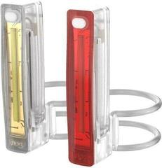 Knog Plus Twinpack Translucent