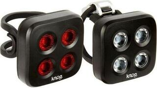 Knog Blinder Mob The Face Twinpack Black