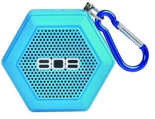 808 Audio SP50 Hex Tether Wireless Speaker Blue