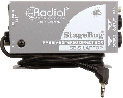 Radial StageBug SB-5 Laptop DI Radial