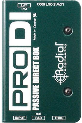 Radial ProDI Passive Direct Box Radial