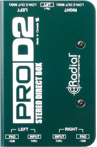 Radial ProD2 Stereo Direct Box Radial