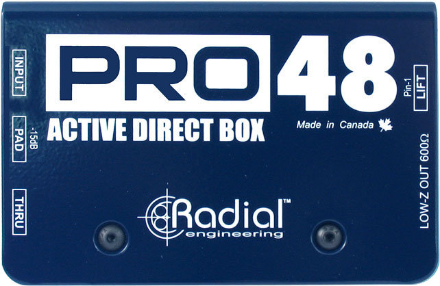 Radial Pro48 Active Direct Box Radial