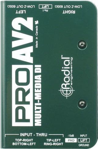 Radial ProAV2 Multimedia DI Radial