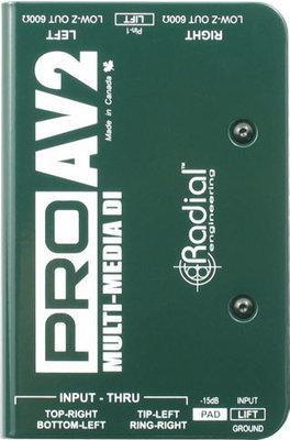 Radial ProAV2 Multimedia DI