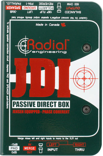 Radial JDI Passive Direct Box Radial
