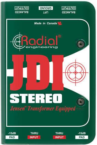 Radial JDI Stereo Passive Direct Box Radial
