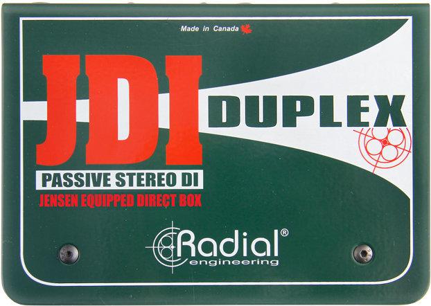 Radial JDI Duplex Stereo Direct Box Radial