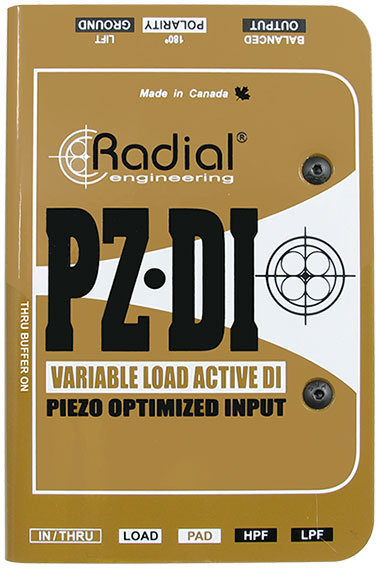 Radial PZ-DI Orchestral Instrument DI Radial