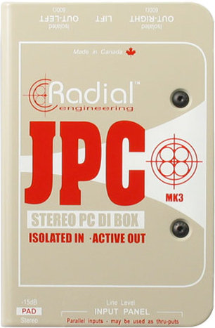 Radial JPC Computer Direct Box Radial