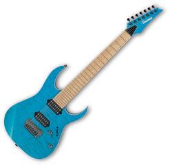 Ibanez RG752MQFXS Prestige Transparent Aqua Blue