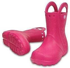 Crocs Kids' Handle It Rain Boot Candy Pink 28-29