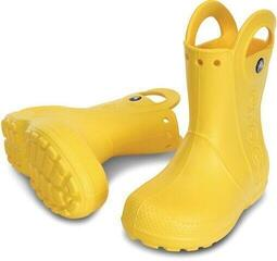 Crocs Kids' Handle It Rain Boot Yellow 25-26