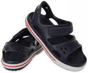 Crocs Preschool Crocband II Sandal Navy/White