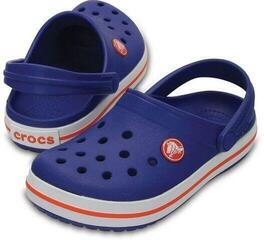 Crocs Kids' Crocband Clog Cerulean Blue 33-34