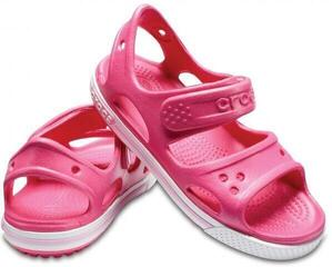 Crocs Preschool Crocband II Sandal Paradise Pink/Carnation
