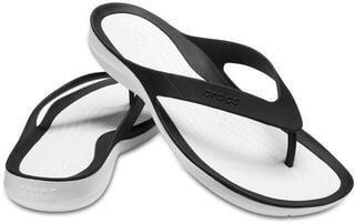Crocs Women's Swiftwater Flip Black/White