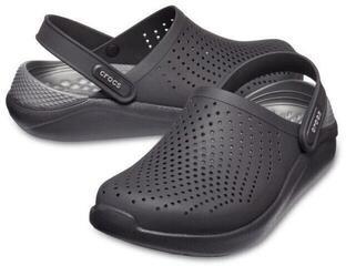 Crocs LiteRide Clog Black/Slate Grey