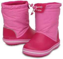 Crocs Kids' Crocband LodgePoint Boot Candy Pink/Party Pink