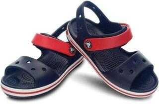 Crocs Kids' Crocband Sandal Navy/Red