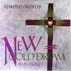 Simple Minds New Gold Dream (81-82-83-84) (LP)
