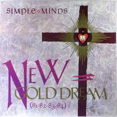 Simple Minds New Gold Dream (81-82-83-84) (Vinyl LP)