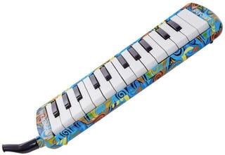 Hohner 9425/25 Airboard Junior 25 Melodica Multicolor-Blue