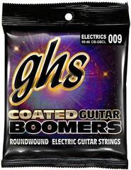 GHS GHSCBGBCL 9 - 46 Custom Light Coated Boomers Guitar String Set
