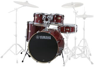 Yamaha SBP2F5 Stage Custom Birch Cranberry Red (B-Stock) #926114