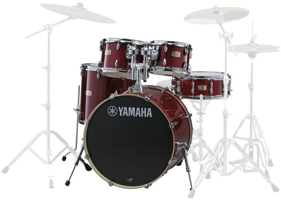 Yamaha SBP2F5 Stage Custom Birch Cranberry Red