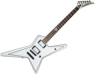 Jackson USA Gus G. Star RW Satin White with Black Pinstripes