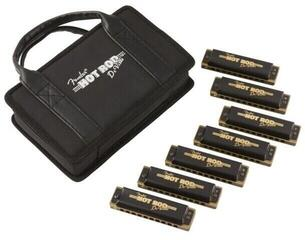 Fender Hot Rod DeVille Harmonica 7 Pack with Case