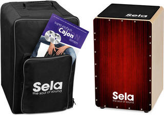 Sela SE 060 Varios Cajon Bundle Red