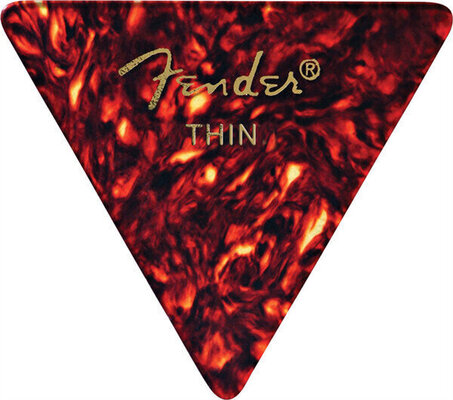 Fender 355 Shape Classic Celluloid Picks Shell Thin12 Pack