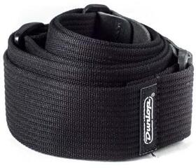 Dunlop D27-01BK Ribbed Cotton Strap Black