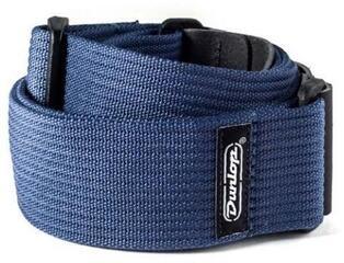 Dunlop D27-01NV Ribbed Cotton Strap Navy Blue