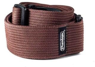 Dunlop D27-01BR Ribbed Cotton Strap Chocolate