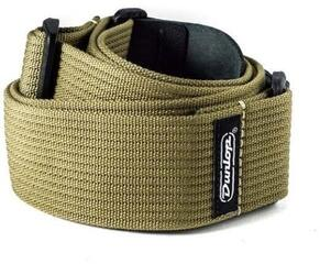 Dunlop D27-01OL Ribbed Cotton Strap Olive Green