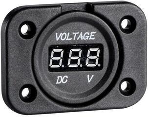 Osculati Digital voltmeter 8/32 V recess mounting