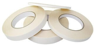 Lindemann Paper Tissue Tack Double Sided Adhesive Tape 6 mm x 50 m