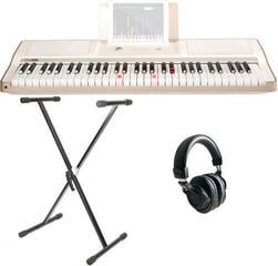 Smart piano The ONE Light Keyboard - White Gold SET